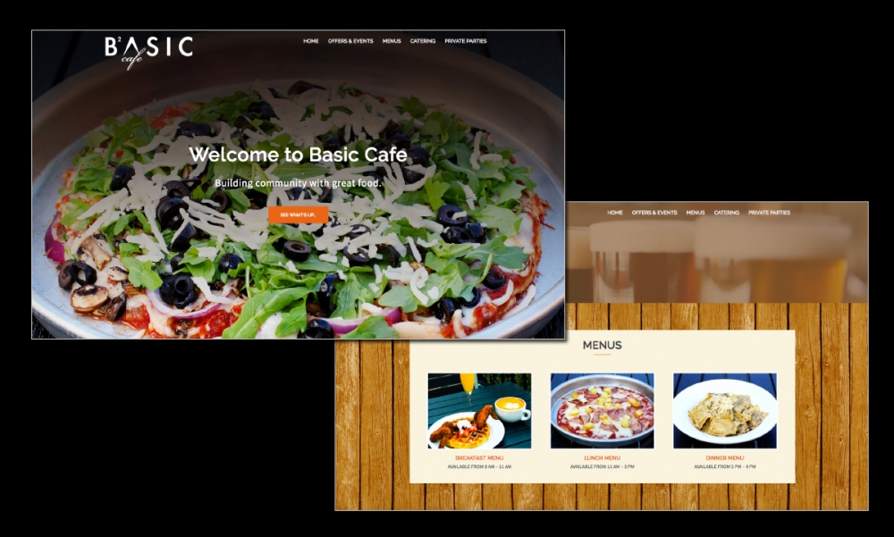 Interactive: Restaurant Web Site