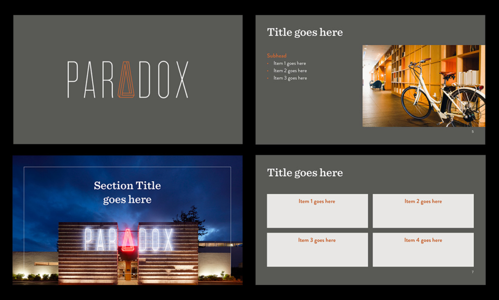 Presentations: Marketing Template